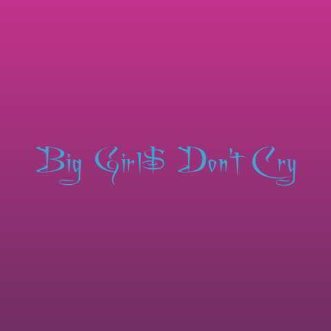 دانلود آهنگ Zhavia Ward به نام Big Girl$ Don't Cry