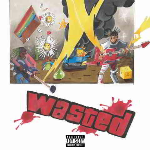 دانلود آهنگ Juice WRLD ft. Lil Uzi Vert به نام Wasted